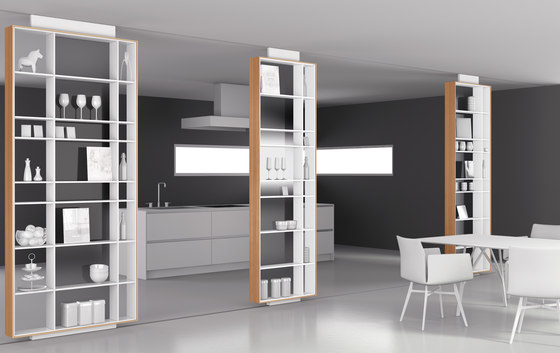 bookless by interlübke | Partition walls home