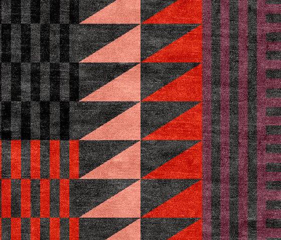 Folk dark de Chevalier édition | Tapis / Tapis design