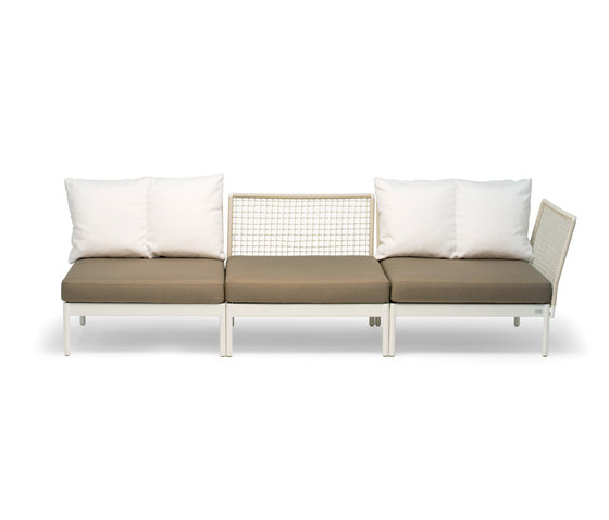 Lodge 3-seater by Fischer Möbel | Garden sofas