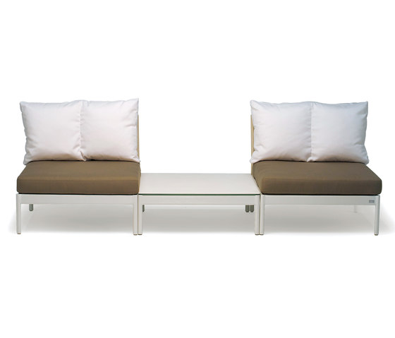Lodge 2-seater de Fischer Möbel | Bancs de jardin
