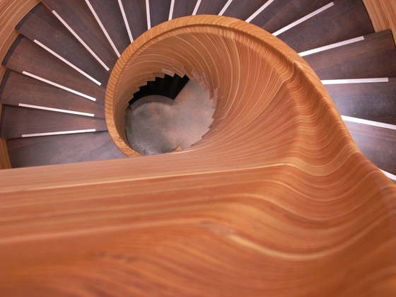 SVL staircase by WoodTrade | Wood stairs