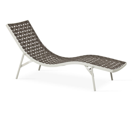 Nizza sunbed by Fischer Möbel | Sun loungers