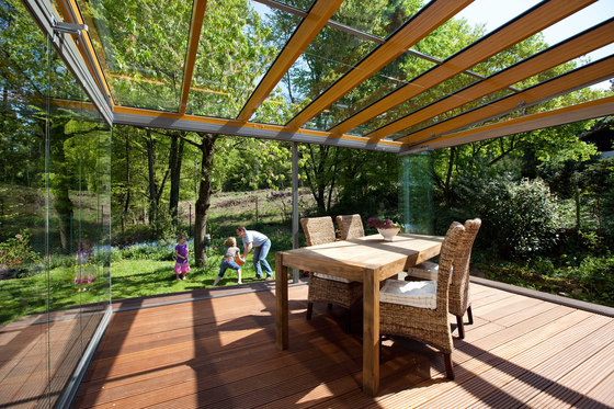 SVL winter garden di WoodTrade | Gazebo da giardino