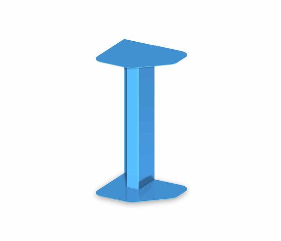 Faraway metal tables by Kos | Shelves