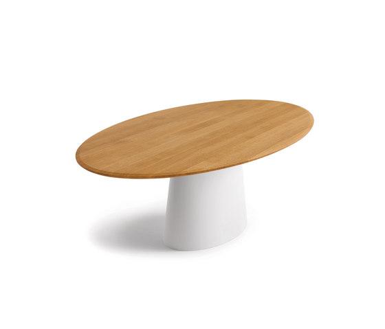 Esstisch massivholz oval verschiedene - Tisch oval weiay ...