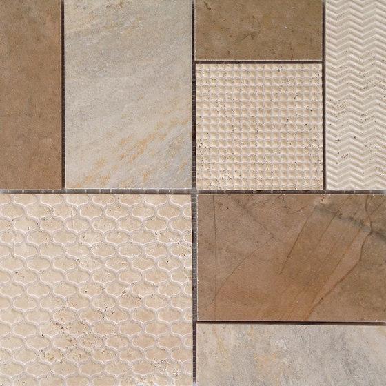 Mosaico Kyra Beige von VIVES Cerámica | Keramik Mosaike