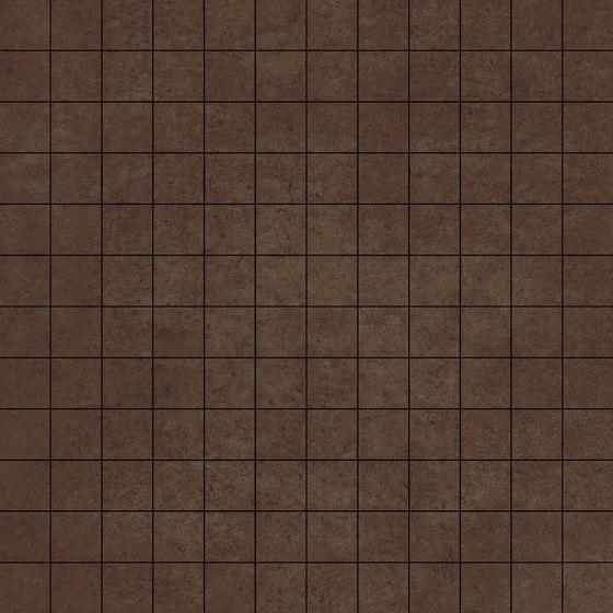 Mosaico Ruhr Chocolate de VIVES Cerámica | Mosaïques