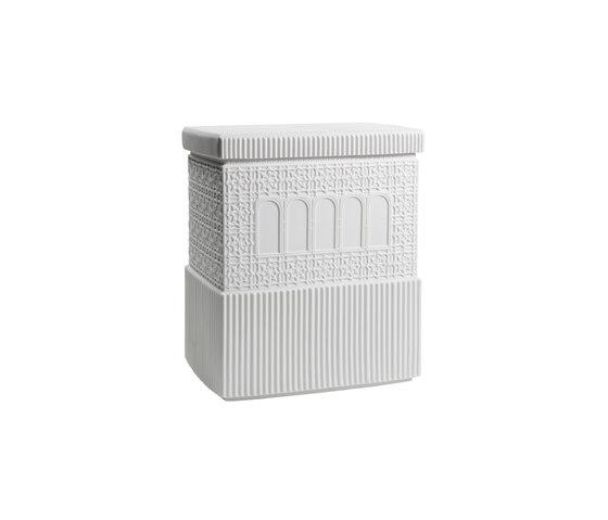 Metropolis - Box (white) by Lladró | Storage boxes