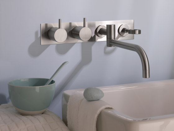 634T4 - Two-handle mixer by VOLA | Wash-basin taps