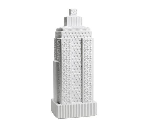 Metropolis - Vase III (white) by Lladró | Vases