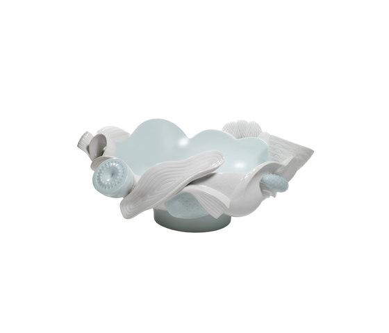 Naturofantastic- Centro mesa (blanco) de Lladró | Bowls