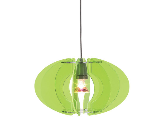 Blossom Pendant 35 Green neon 019 by Bsweden | General lighting
