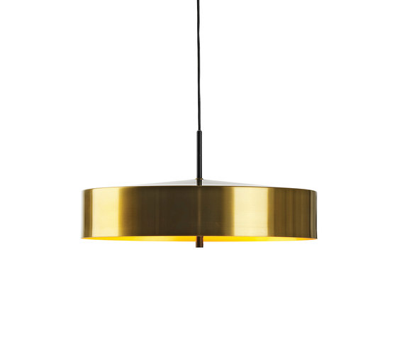Cymbal 46 pendant brass colour by Bsweden | General lighting