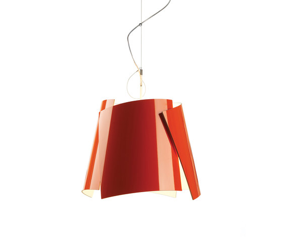 Leaf 42 pendant orange by Bsweden | General lighting