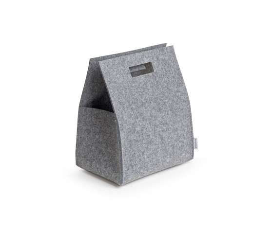 Little Porter Felt Carry Box di greybax | Contenitori / Scatole