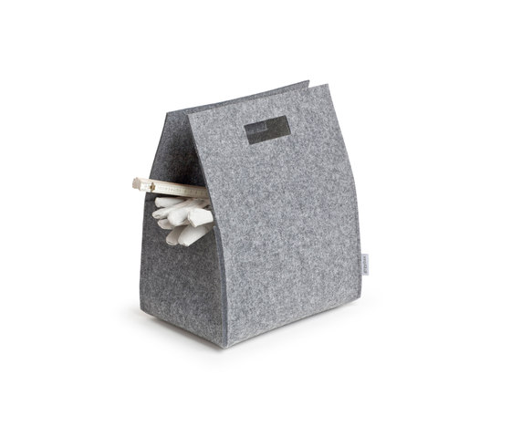 Little Porter Felt Carry Box by greybax | Storage boxes