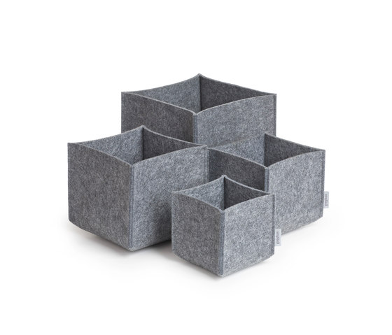 Square Set multi purpose boxes by greybax | Storage boxes