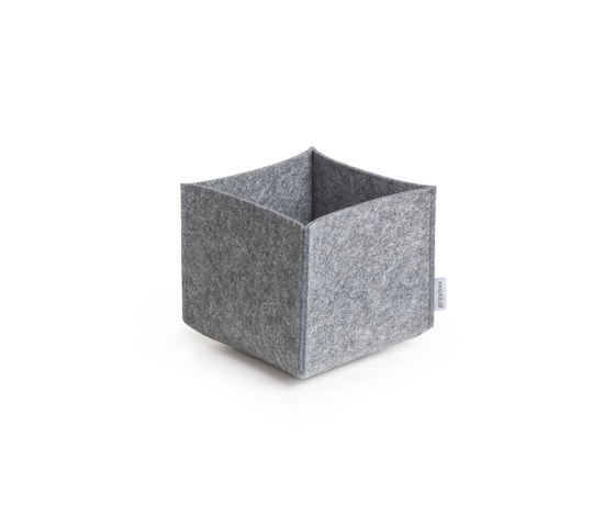 Square 20 multi purpose box by greybax | Storage boxes