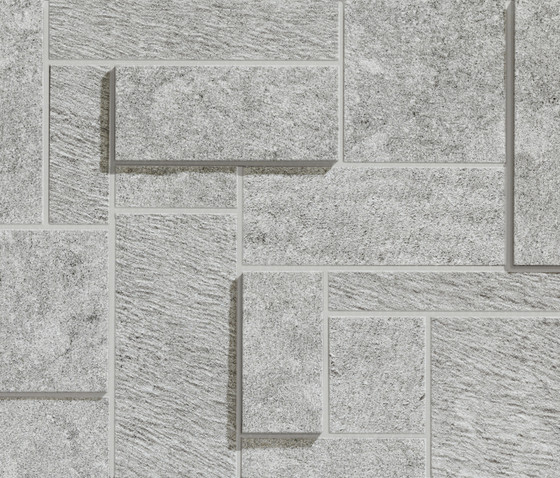 Belgian Grey Dimension Mix by Caesar | Tiles