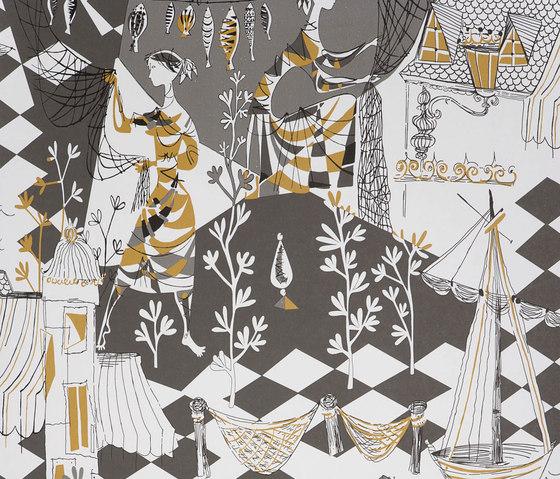 Villefranche ocre by Gastón y Daniela | Curtain fabrics