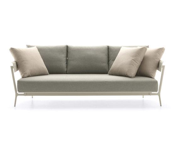 Aikana sofa 3-seater von Fast | Gartensofas