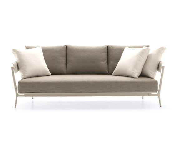 Aikana sofa 3-seater di Fast | Divani da giardino