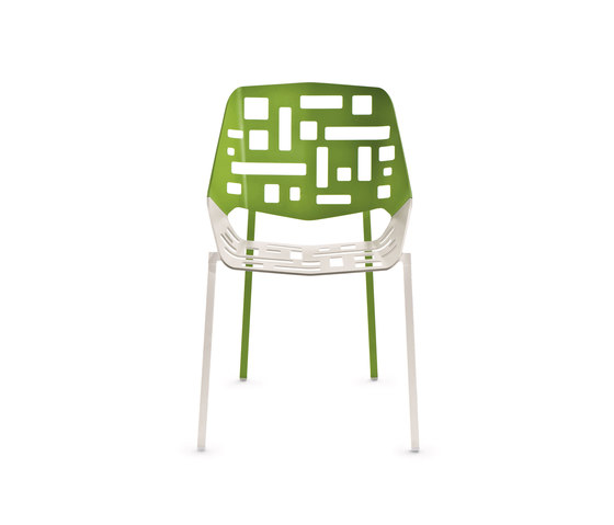 Twin Stacking Chair by Fast | Garden chairs