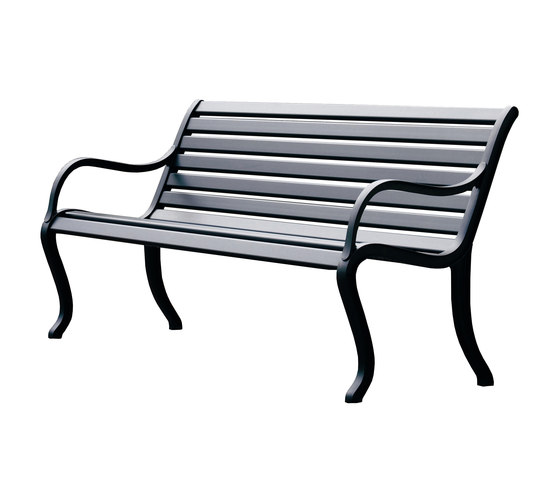 Oasi bench by Fast | Garden benches