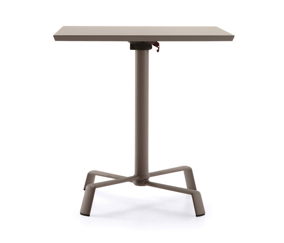 Tonik tabletop with base von Fast | Cafeteriatische