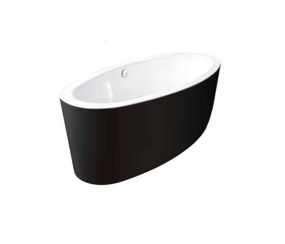 BetteHome Oval Silhouette Bicolour by Bette | Free-standing baths