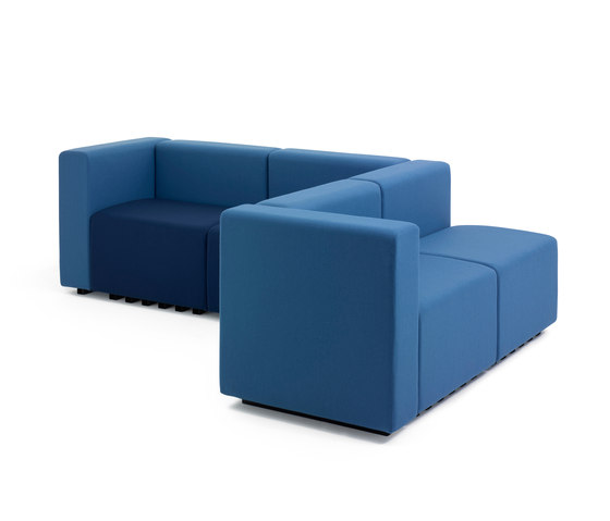 Lobby by +Halle | Modular seating systems