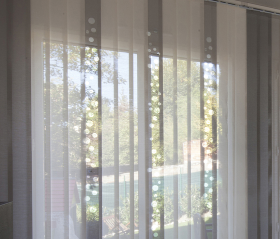 Bubbles by Lily Latifi | Vertical blinds