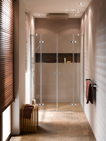 BetteShower Enclosure Niche Installation de Bette | Mamparas para duchas
