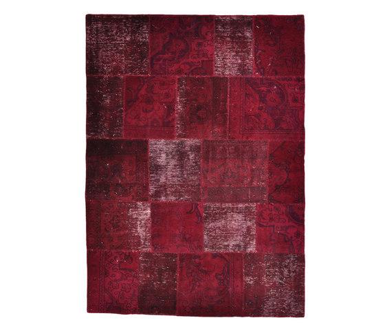 Persian Vintage | burgundy von Naturtex | Formatteppiche / Designerteppiche