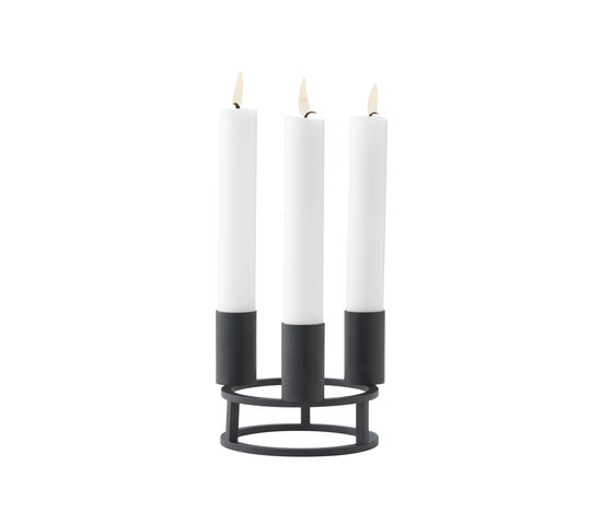 Circle 3 by by Lassen | Candlesticks / Candleholder