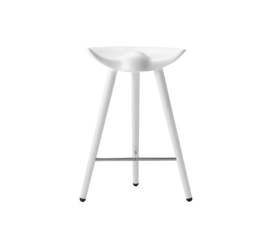 ML 50 counter stool fibreglass by by Lassen | Counter stools