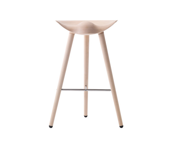 ML42 Bar Stool Oak di by Lassen | Sgabelli bancone