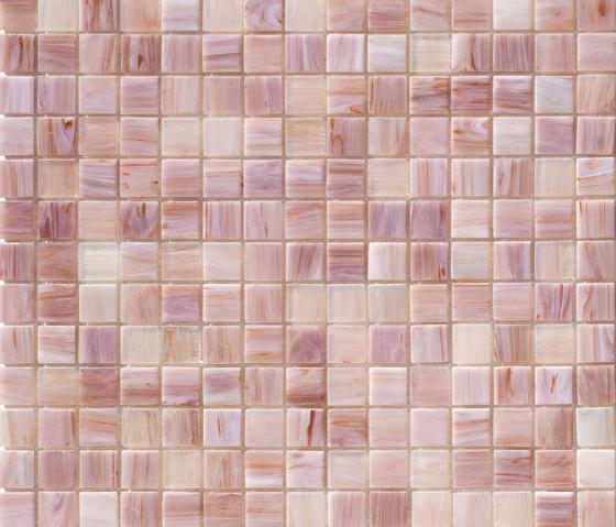 Aurore 20x20 Lilla di Mosaico+ | Mosaici vetro