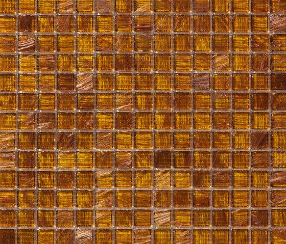Aurore 20x20 Ambra by Mosaico+ | Glass mosaics