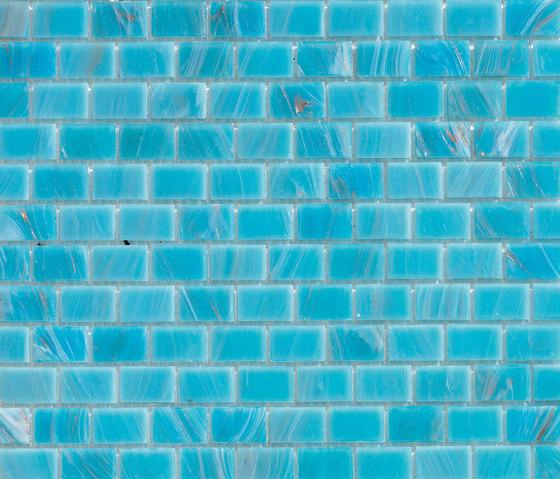 Aurore 20x30 Turchese by Mosaico+ | Glass mosaics