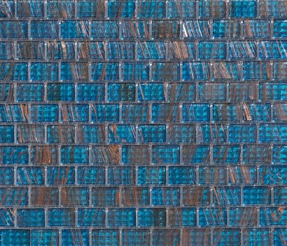 Aurore 20x30 Blu Orizzonte de Mosaico+ | Mosaïques en verre