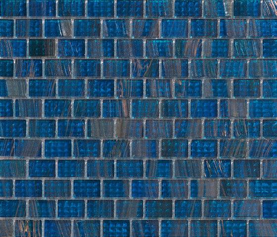Aurore 20x30 Petrolio by Mosaico+ | Glass mosaics