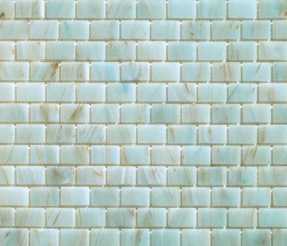 Aurore 20x30 Giada by Mosaico+ | Glass mosaics