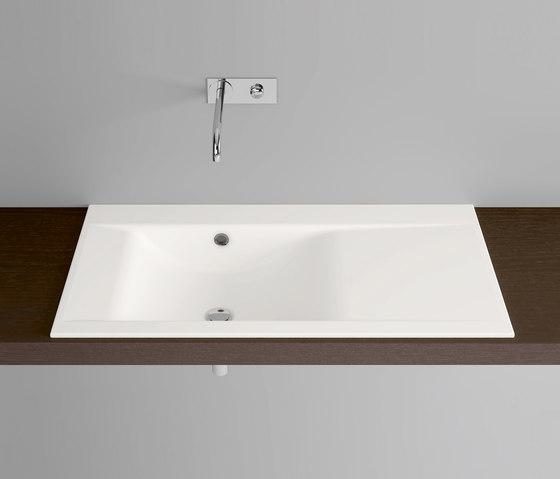 BetteWave Built-in Washbasin by Bette | Wash basins