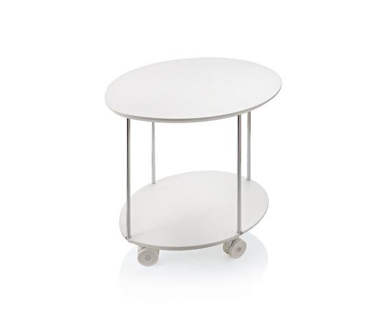 Clyde Carrellino di ALMA Design | Tavolini alti