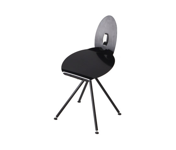 Miró Chair with backrest de Stellar Works | Chaises de cantine
