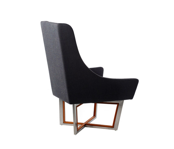 Open Privacy High-back Lounge Chair von Stellar Works | Loungesessel