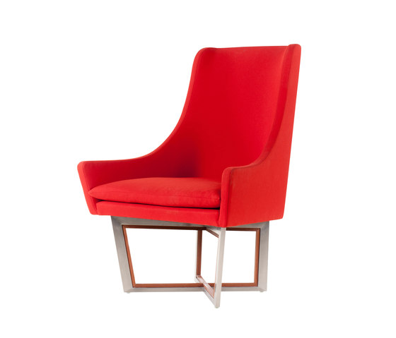 Open Privacy High-back Lounge Chair by Stellar Works | Lounge chairs