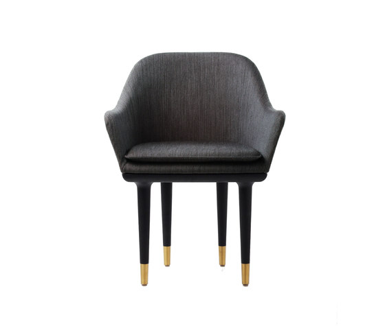Lunar Dining Chair Small de Stellar Works | Chaises de restaurant