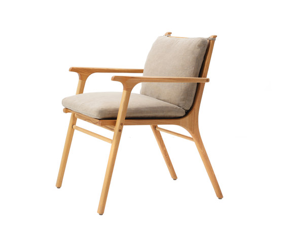 Rén Dining Armchair by Stellar Works | Restaurant chairs